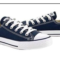 Converse All Star Low Top  Size 11 Youth Navy Blue Photo