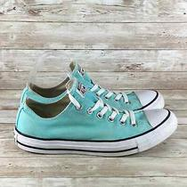 Converse All Star Low Womens Size 10 Teal Blue Athletic Comfort Walking Shoes Photo
