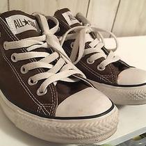 Converse All Star Men's Size 7 Low Top Brown Photo