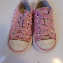 Converse All Star Pink Fabric Slip on Sneakers. Size Infants 5 Photo