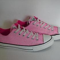 Converse All Star Pink Men Women Sneakers  Photo