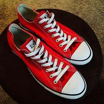 Converse All Star (Product) Red Low Tops Photo