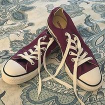 Converse All Star Purple Low Top Photo