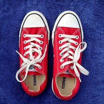 Converse All Star Red Low-Tops Size 5 Photo