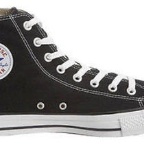Converse All Star Size 10.5chuck Taylor Hi High Top Shoes Unisex Canvas Sneakers Photo