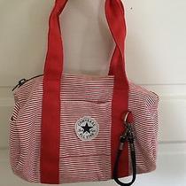 Converse All Star Small Orange Cotton Barrel Bag Photo