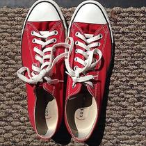 Converse All Star Sneakers (Red Low Top) Photo