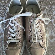 Converse All Star Womens Metallic Pink Sneakers Shoes Size 8 Photo