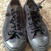 Converse All Stars All Black Low Top Mens 8 Photo