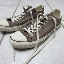 Converse All Stars Low Tops - Brown - Womens 10.5 - Mens 8.5 Photo