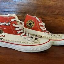 Converse Andy Warhol Campbell's Tomato Soup Chuck Taylor - Size 7 Photo