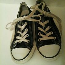 Converse Black Low Top Sneakers 13 Photo