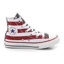 Converse Boys Stars and Bars Hi High Ankle Trainers Other Size 39 Photo