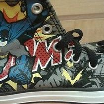 Converse Boys Youth Shoes Batman Size 1 Photo