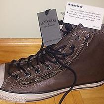 Converse by John Varvatos Chuck Taylor Limited Brown Double Zip Hi Leather 11m  Photo