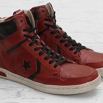 Converse by John Varvatos Jv Weapon- Faded Rose (Red/black)- Extremely Rare 12 Photo