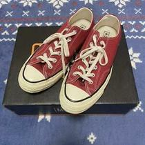 Converse Chuck Taylor All Star 70 Ox Red X White Size Us 7.5 Men's Sneakers Photo