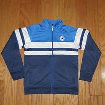Converse Chuck Taylor All Star Full Zip Track Jacket Size Xl Youth Blue Boy's Photo