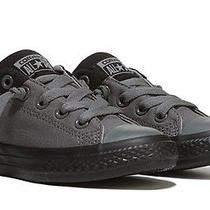 Converse Chuck Taylor All Star High Street Slip Sneakers Black/gray Sz 2 New Photo