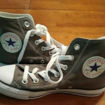 Converse Chuck Taylor All Star High Top Men's 5 Women's 7 Gray Canvas Shoes Photo