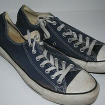 Converse Chuck Taylor All Star Low Tops Blue Sneakers Shoes M11/ W 13 Photo