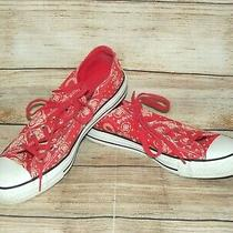 Converse Chuck Taylor All Star Ox Blush Bandana Sneakers Womens Size 10 Photo