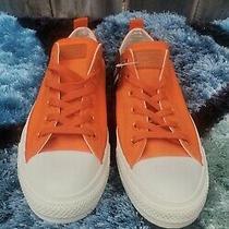 Converse Chuck Taylor All Star Ox Cordura Orange White Mens Shoes Sneakers Photo