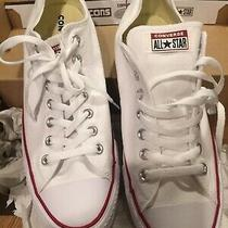 Converse Chuck Taylor All Star Ox Sneakers Optical White Size 11.5 New in Box Photo