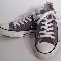 Converse Chuck Taylor All Star Sneakers Shoes Grey Women Sz 7 Mens Sz 5 Charcoal Photo