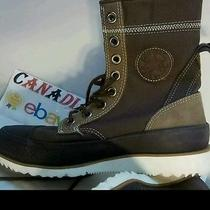 Converse Chuck Taylor All Star Unisex Boots Rubber Textile Brown Rare Mint 8.5 Photo