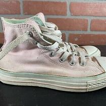 Converse Chuck Taylor All Stars Pink Canvas High Top Casual Shoes Womens Size 3 Photo