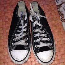 Converse Chuck Taylor Black Low Top All Stars - Size 6 - Photo