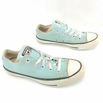 Converse Chuck Taylor Casual Sneakers Light Blue Shoes Lace Up Womens Size 6 Photo