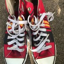 Converse Chuck Taylor High Top Shoes Red Men Size 7 Photo