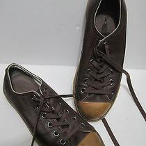 Converse Chuck Taylor Leather Shoes Brown Low-Top Us-6 Eu-39 Photo