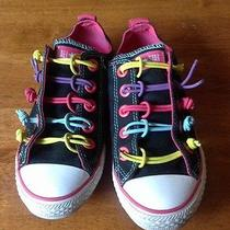 Converse Chuck Taylor Youth 2 All Star Stretchy Shoes Rare Unique Sneakers Pink Photo