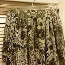 Converse Gray Floral Mini Skirt  Size 10 Photo