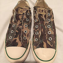 Converse Green Camoflage 6.5  Photo