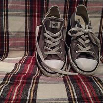 Converse Grey All-Star Chuck Taylor Low Top Youth 1 Photo