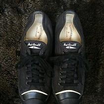 Converse Jack Purcell  John Varvatos Men's Black Sneakers Size 11.5 Photo