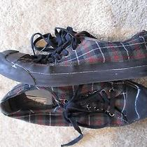 Converse Jack Purcell Plaid Canvas  Low Top Sneakers Sz 10 Photo