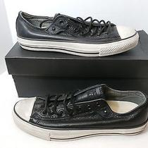 Converse John Varvatos Black Leather Monkstrap Sz 10.5 Men's  Sneaker Photo