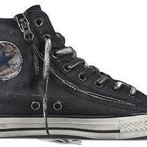 Converse John Varvatos Chuck Taylor Double Zip Mens 7 Gray Shoe Sneaker 129643c Photo