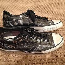 Converse John Varvatos Leather Shoes Size 11 Black Player Ox Photo