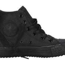 Converse Kids Chuck Taylor All Star Hollis Hi Top Size 13 Color Black-  New Photo