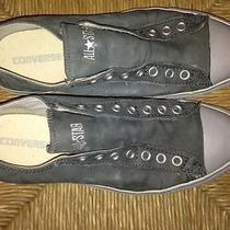 Converse Leather Low Top Sneakers -Gray  Photo