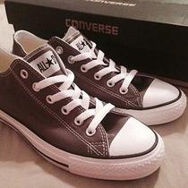 Converse Low Top Charcoal Grey New Size 8m/10w Photo