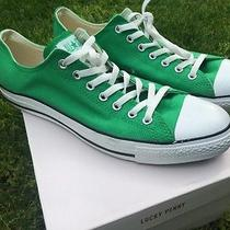 Converse Low Top Shoes Green Mens 12 Women's 14 Photo