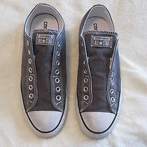 Converse Low Top Slip on Grey Size 10 Photo