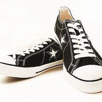 Converse Low Top Unisex Black Sneakers Tennis Shoes Mens 9 Photo